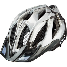 KED Spiri Two K-Star Helm silber/schwarz